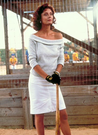 Bull Durham Annie at the plate