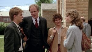 FOOTLOOSE Ren and Ariel First Meeting Kevin Bacon Lori Singer John Lithgow