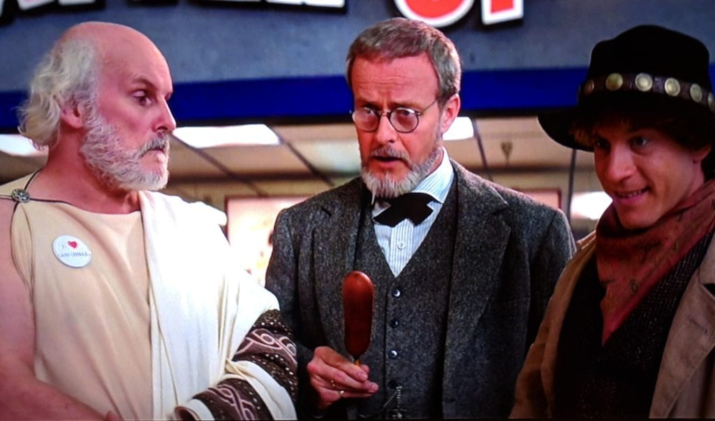 sigmund freud billy the kid socrates bill and ted's excellent adventure