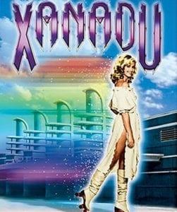 Xanadu DVD cover Olivia Newton John