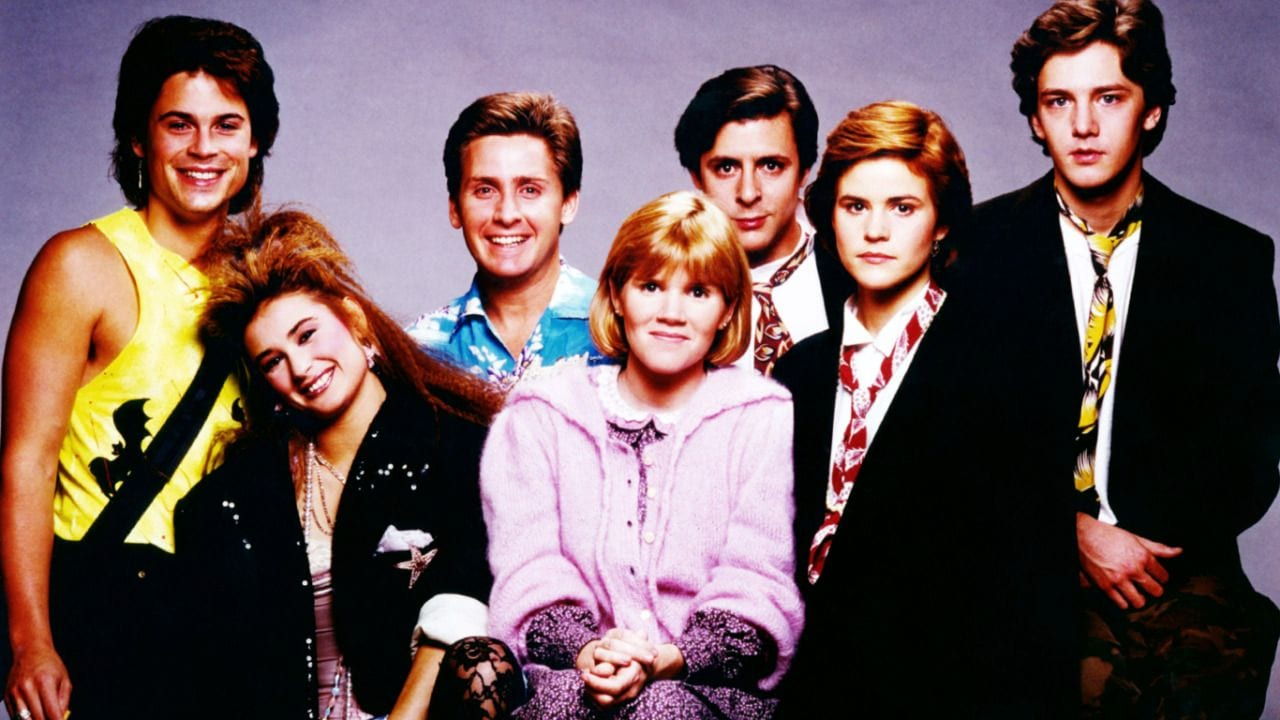 cast of St. Elmo's Fire 1985