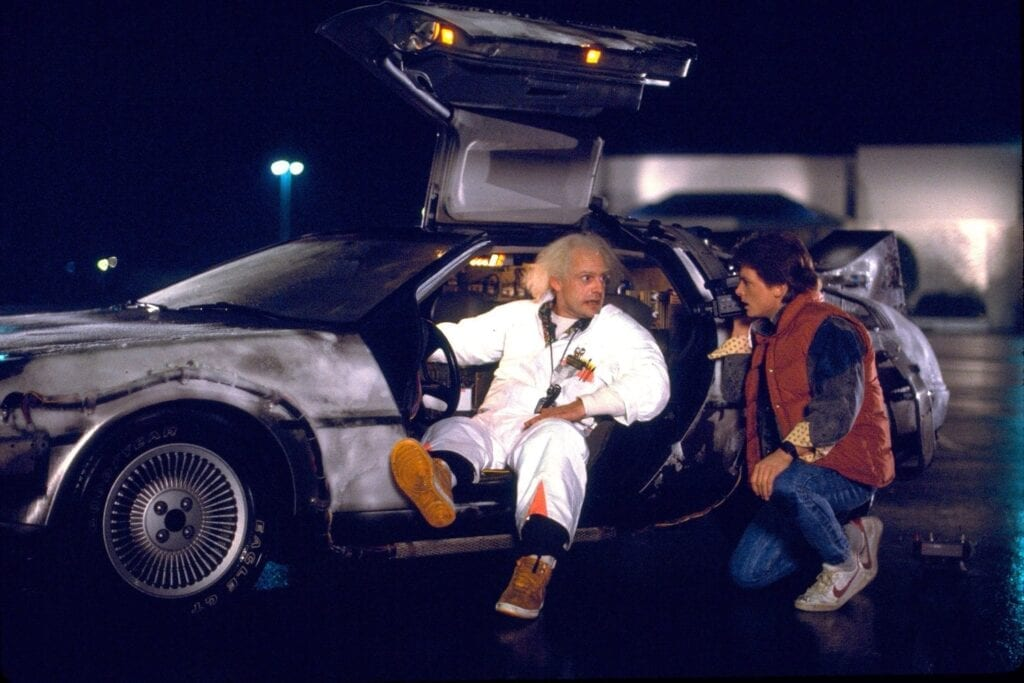 Back to the Future Doc Brown Marty McFly
