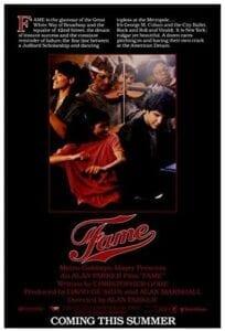 FAME poster 1980