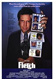 The movie poster of FLETCH