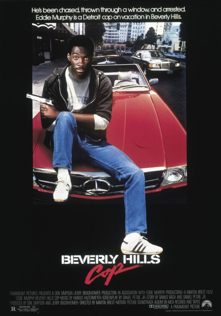 Beverly Hills Cop movie poster 1984